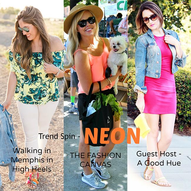 Trend Spin Linkup: Neon