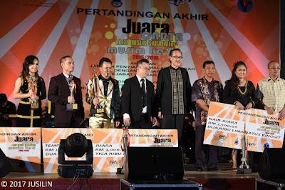 Pemenang Mengikut Kategori Bergambar Bersama Datuk Seri Panglima Masidi