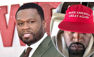 50 Cent Gets Called Out For Faking Kanye West