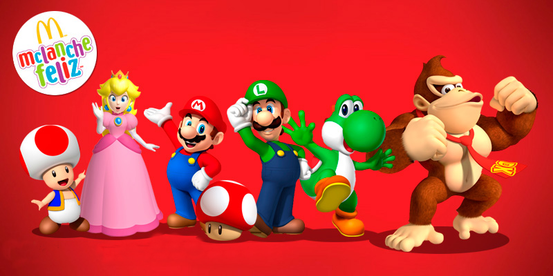 Personagens Do Super Mario Bros Invadem O Mcdonald S Lianna Sene