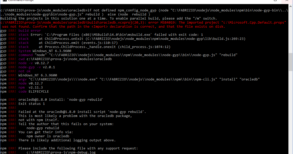 Fabrizio Marini: Oracle Application Container Cloud & Developer