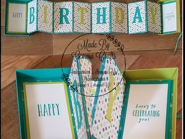 Stampin'Up! Card in a Box with a twist