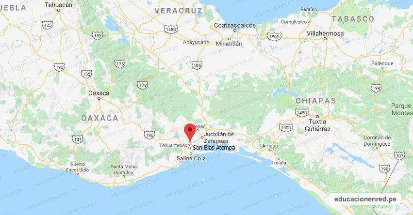 Temblor en México de Magnitud 4.0 (Hoy Martes 9 Abril 2019) Sismo - Epicentro - San Blas Atempa - Tehuantepec - Oaxaca - SSN - www.ssn.unam.mx