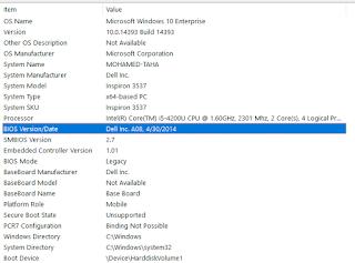 dell bios update windows 10