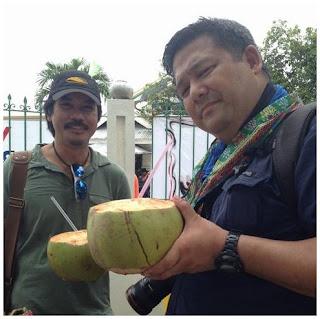 Varela with Laguda