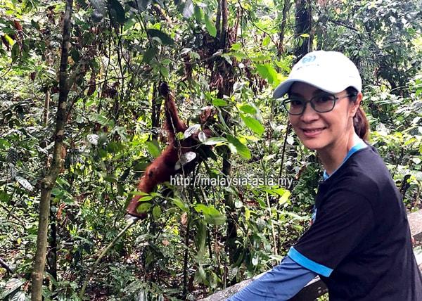 Star Trek Michelle Yeoh in Sabah Malaysia