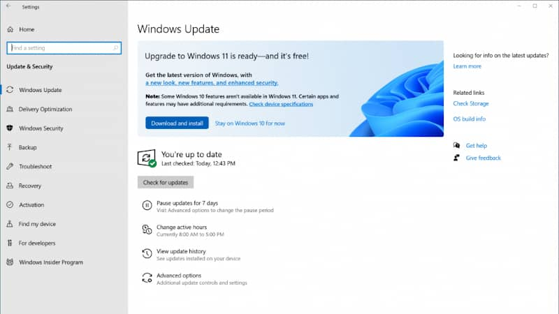 How to upgrade your system to Windows 11