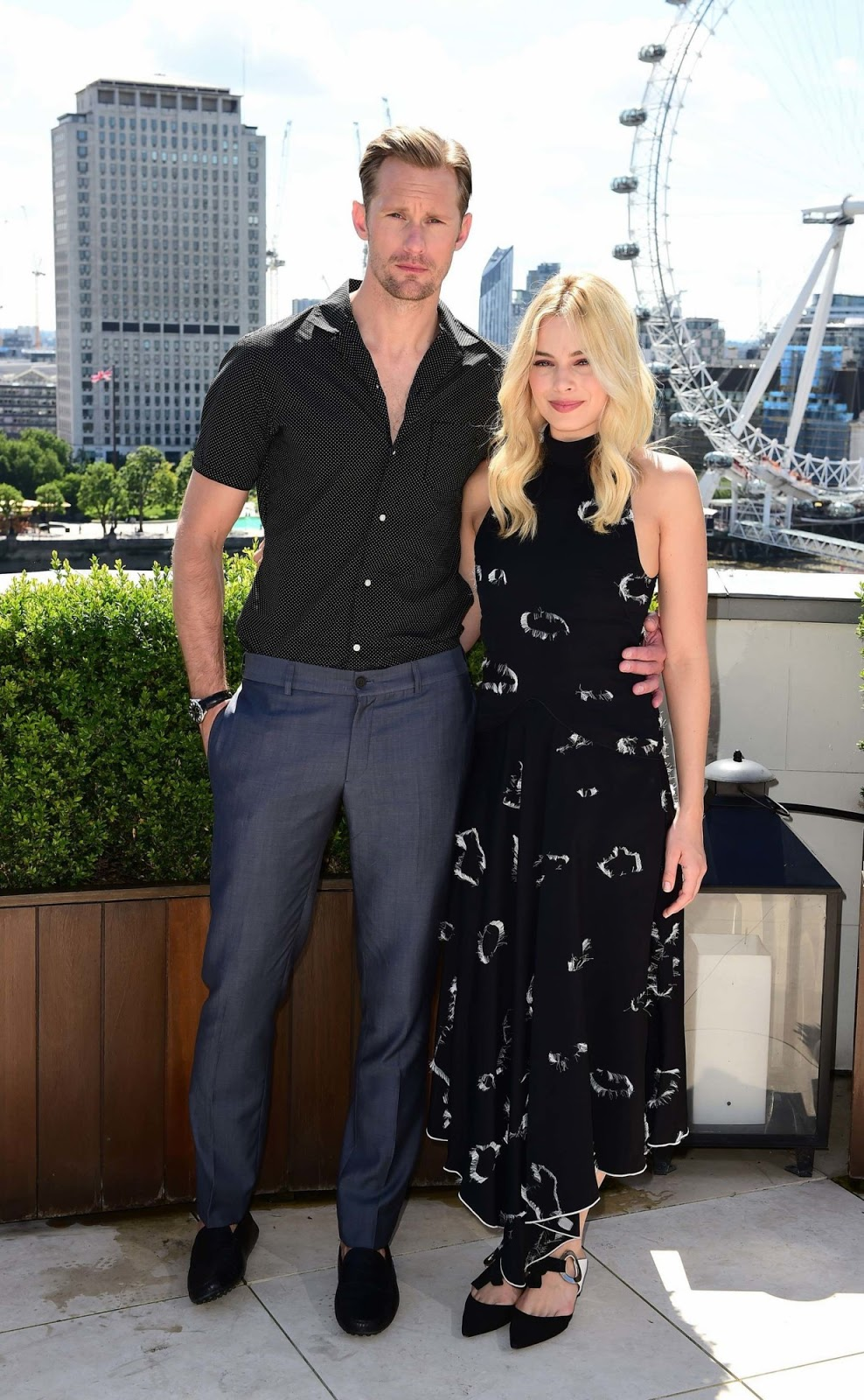 Margot Robbie promotes 'The Legend of Tarzan' in London