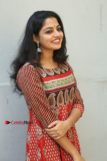 Telugu Actress Nikhila Vimal Latest Stills in Anarkali Dress  0047.JPG