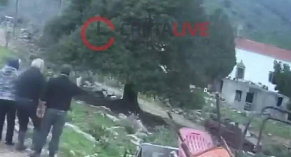 Βίντεο από το φονικό στο Λασίθι: Μέσα σε δευτερόλεπτα έγινε το έγκλημα