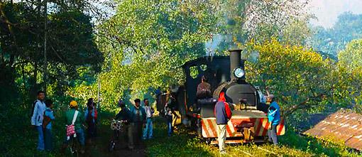 Myanmar railway frontend