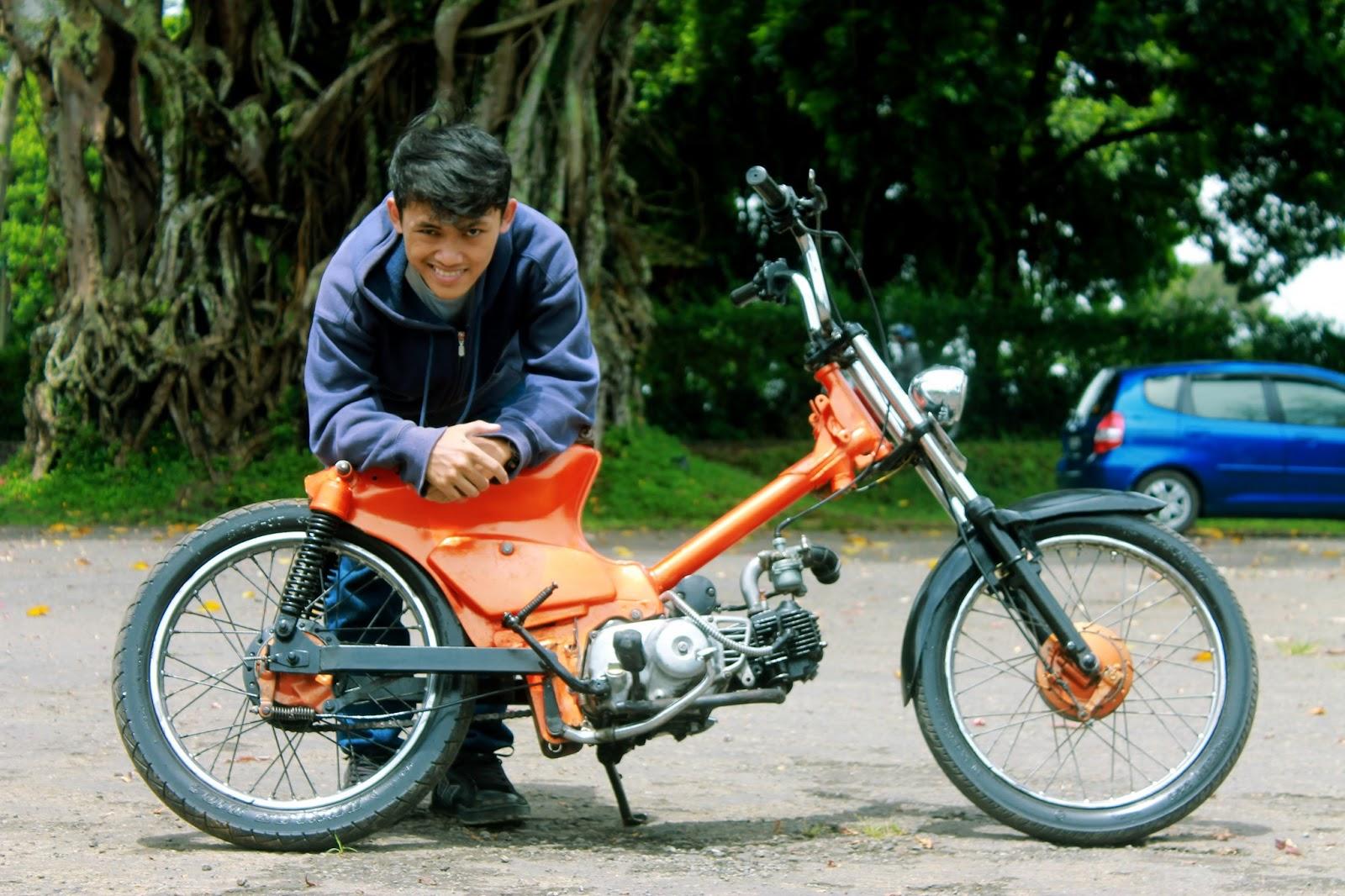Foto Modifikasi Motor Bekjul Terkeren Dan Terbaru Modifikasi Trail