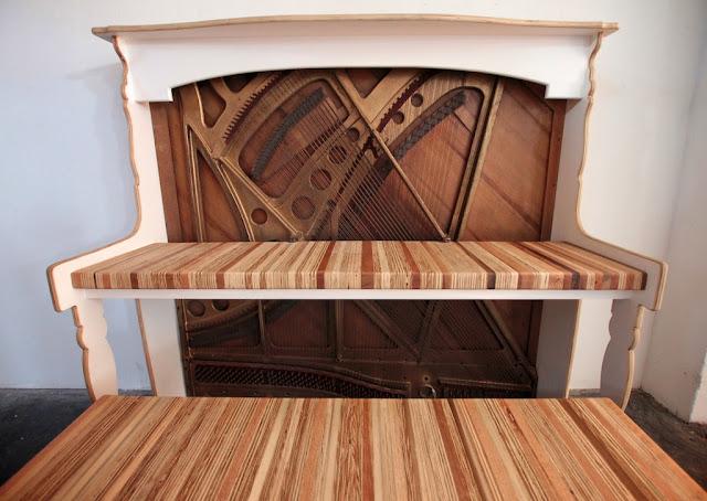 Dishfunctional Designs The Salvaged Amp Repurposed Piano