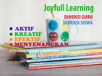 Prinsip-prinsip dalam Menerapkan Pembelajaran Joyfull Learning (PAKEM)