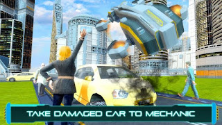 Tourist Futuristic Flying Car Apk v1.3 Mod (Unlocked)