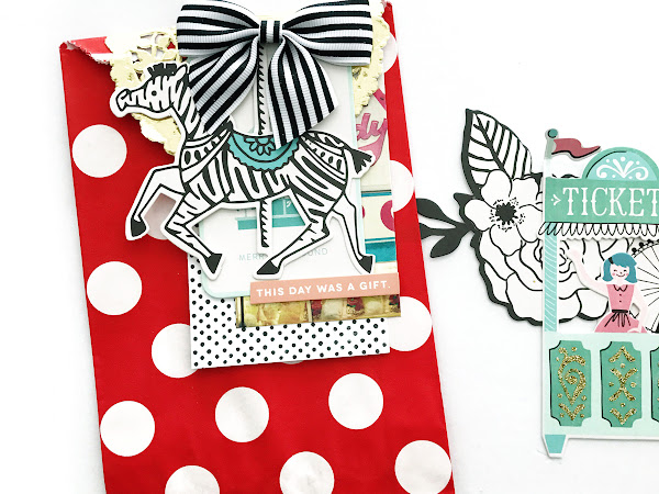 Crate Paper Design Team : Gift Topper