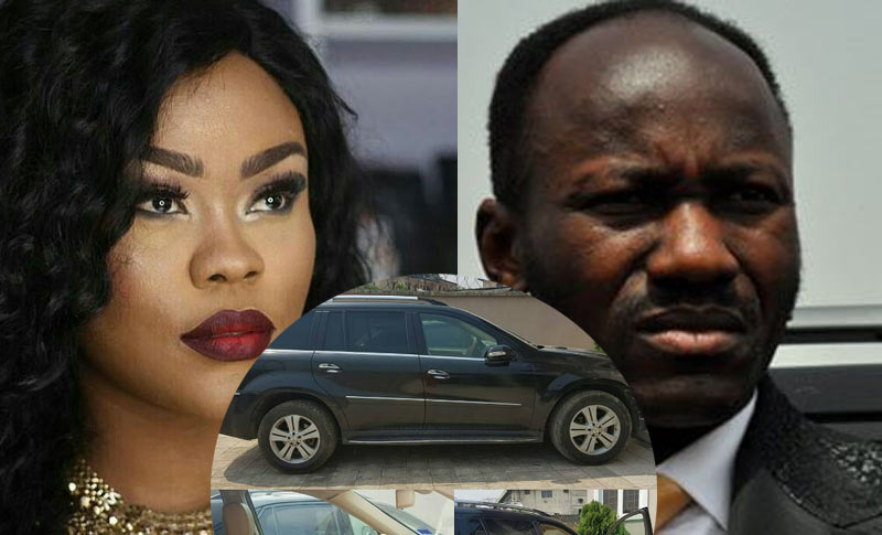 What is Apostle Suleman's Benz ML450 doing inside Daniella Okeke's house?
