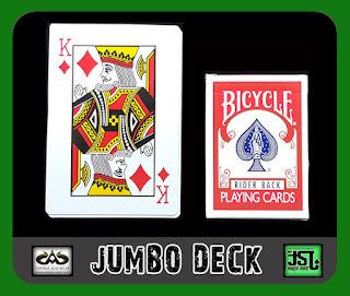 toko sulap jogja Jumbo Card Deck