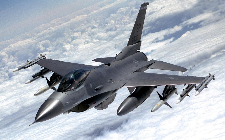Wallpaper F 16 Fighter