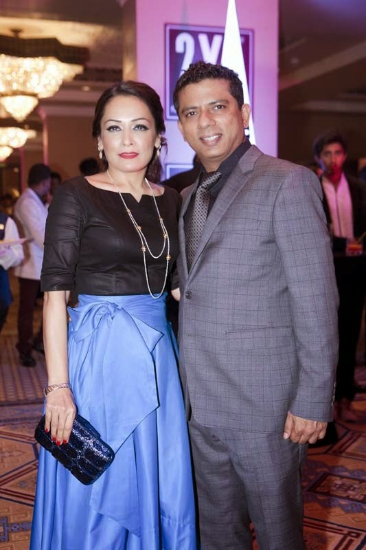 Sakshi and Bhupender Nath, Masala! Awards 2014 Photo Gallery