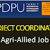 Project coordinator Recruitment Pandit Deendayal Petroleum University