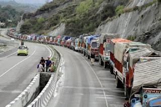 on-one-side-of-the-national-highway-restored-traffic