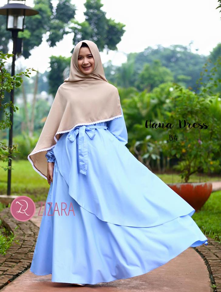 Gamis Zizara Hana Dress B4