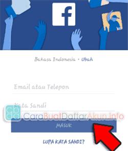 daftar instagram lewat facebook