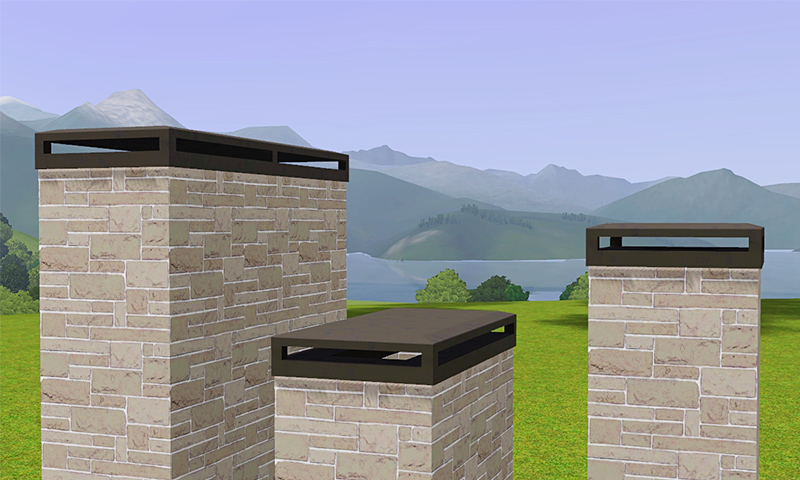 My Sims 3 Blog Decorative Chimney Caps By Gelina