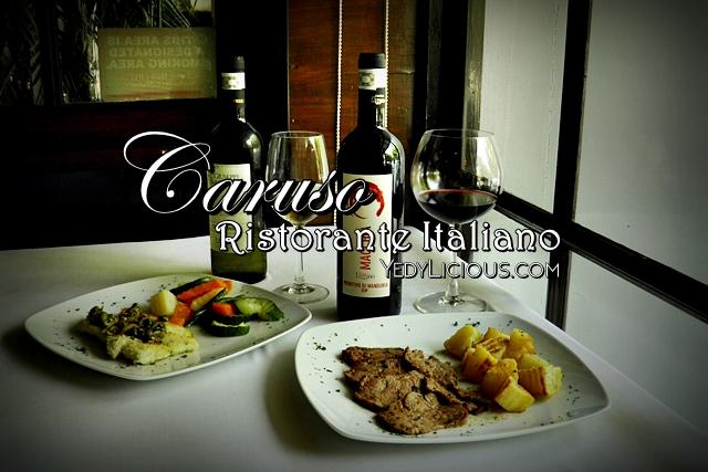 Caruso Ristorante Italiano Fine Dining Italian Restaurant in Makati City