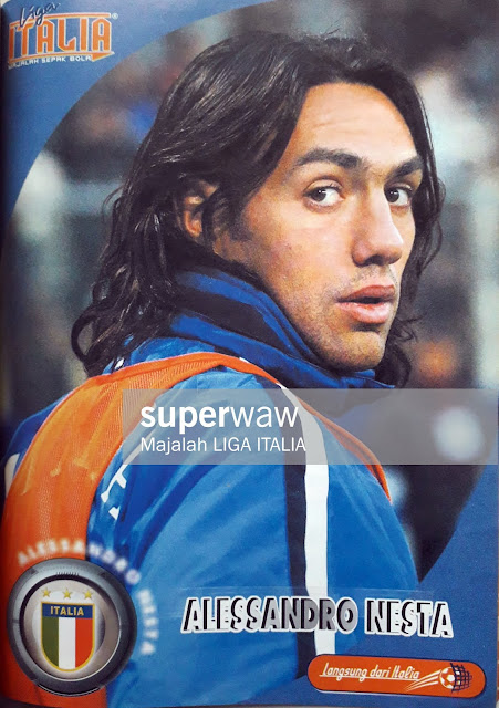 PIN UP ALESSANDRO NESTA (ITALIA)