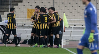 ΑΕΚ - ΠΑΟΚ 3-0 γκολ και τα highlights