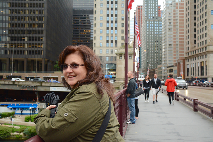 Mom in Chicago