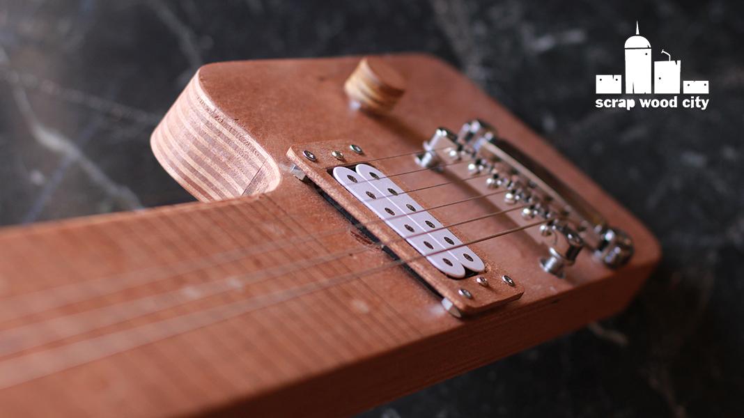 scrap wood city diy electric lap steel guitar out of plywood. Black Bedroom Furniture Sets. Home Design Ideas