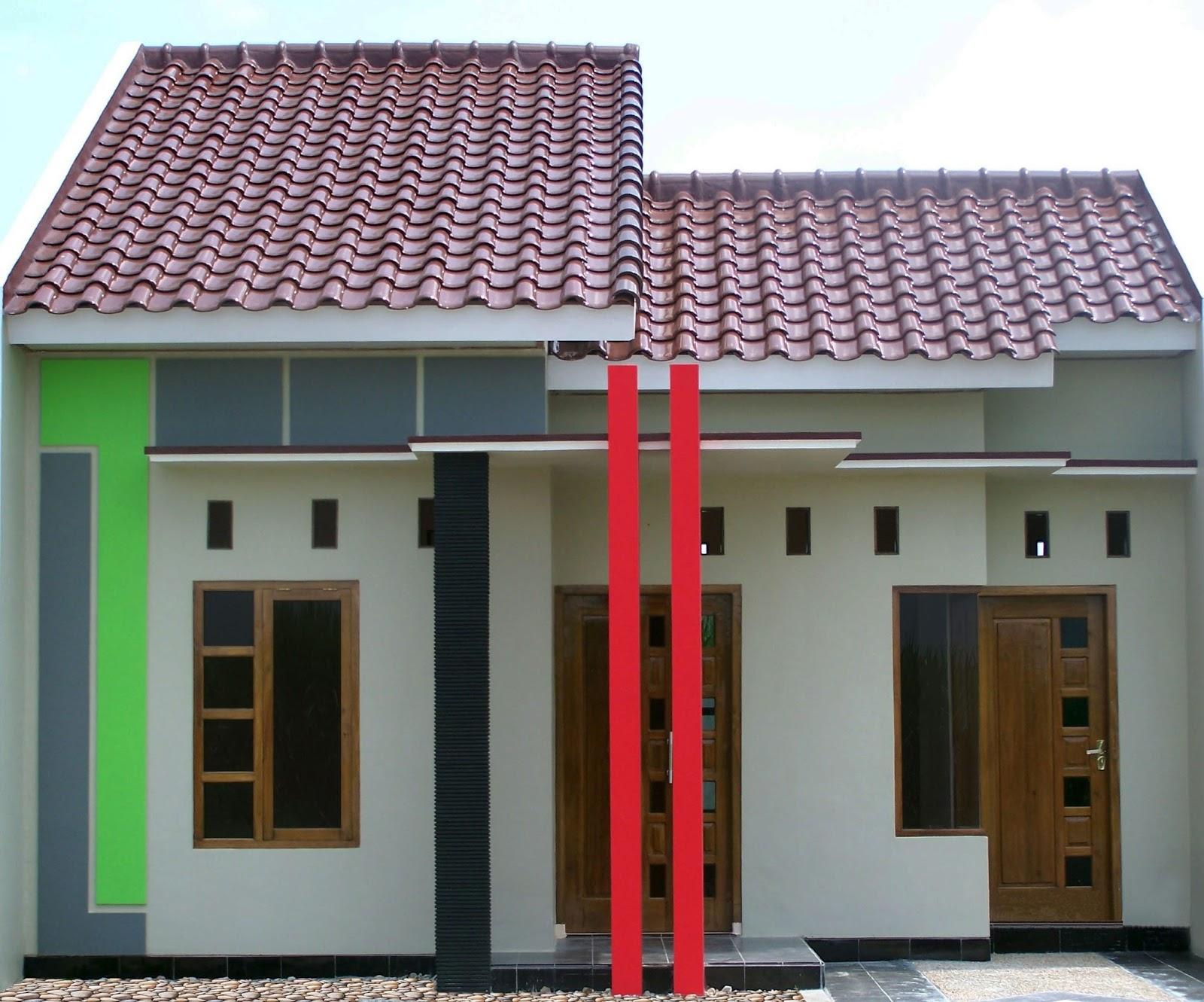 54 desain rumah sederhana di kampung yang terlihat cantik