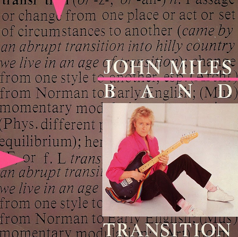 John Miles Transition 1985 aor melodic rock