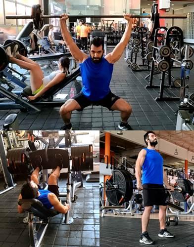 Rutina de pesas para piernas y cola