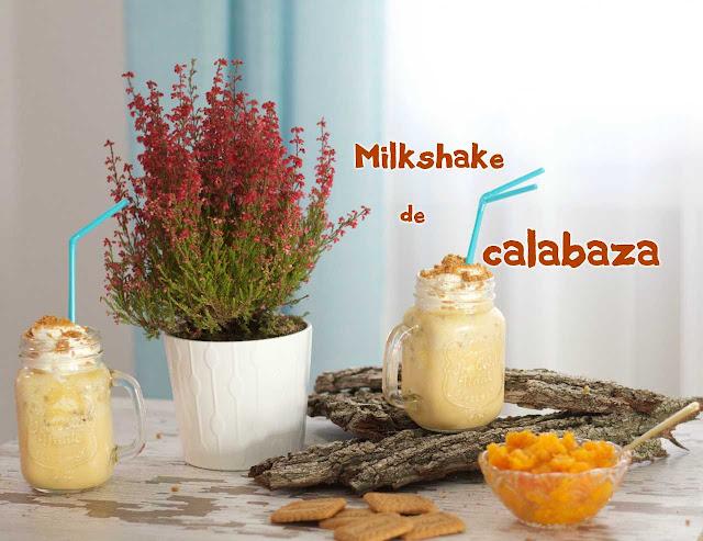 Milkshake de calabaza