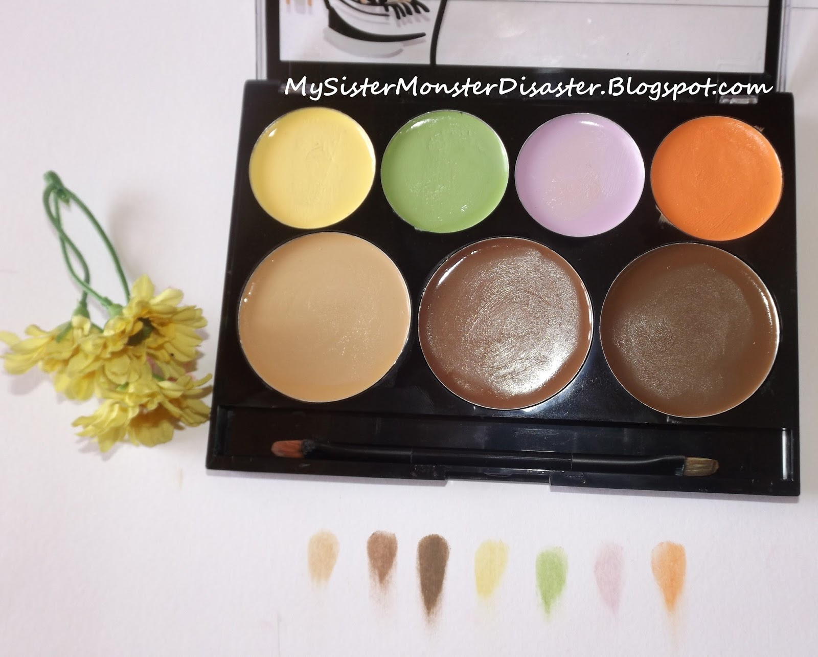City Color Cream And Contour Pallet Review