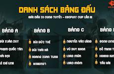 Team Lord Lê Chính Linh và Hoàng Xuân Tùng đang dẫn đầu bảng A - B