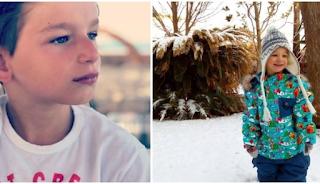 Ο μικρός γιος του Ρουβά και της Ζυγούλη βγήκε να παίξει στα χιόνια και είναι «κουκλάκι ζωγραφιστό»