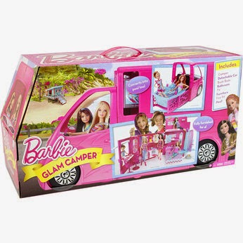 Barbie Glam Camper #Review