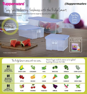 Freshness with Fridge Smart Tuppermates