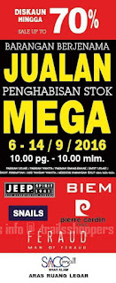 Branded Products Mega Stock Clearance Sale 2016