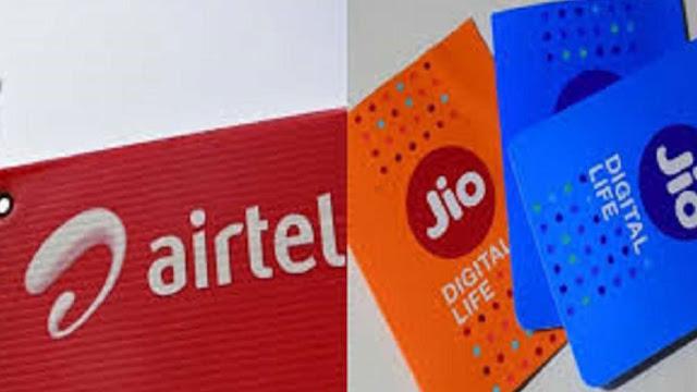 Jio vs Airtel: एयरटेल ने 199 के प्लान में किया बदलाव, अब मिलेगा ज्यादा डेटा