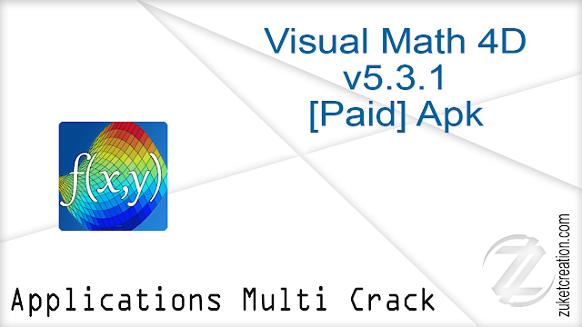Visual Math 4D v5.3.1 [Paid] Apk