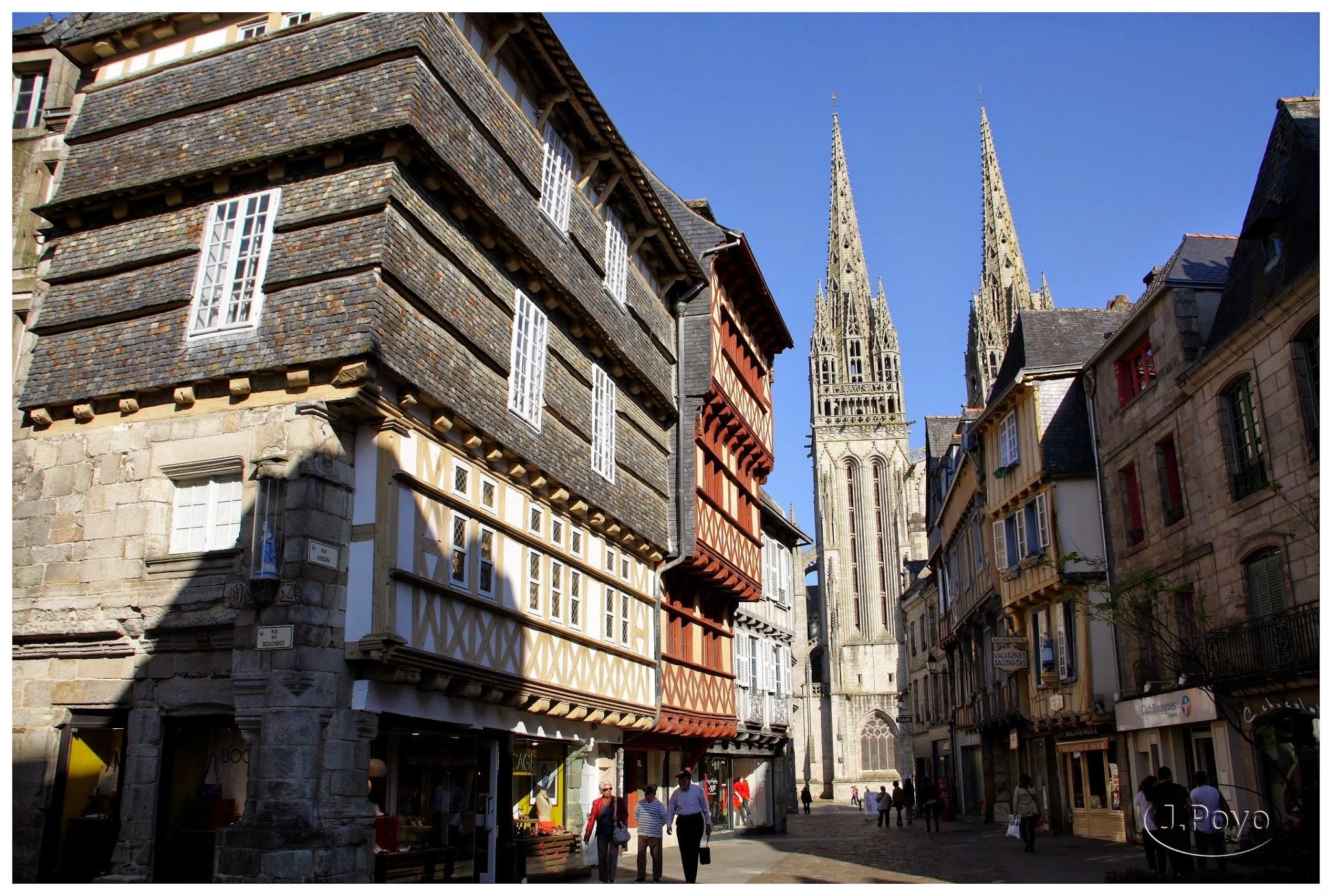Quimper, Bretaña, Francia