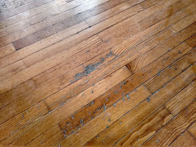 Θα φύγουν οι γρατζουνιές εάν κάνω συντήρηση στο ξύλινο πάτωμα μου;