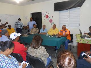 Instituciones mixtas  integran al operativo Semana Santa 2019 en Pedernales