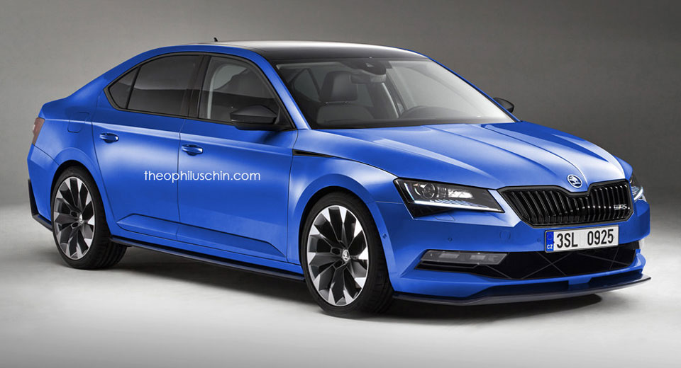 skoda investigating performance focused superb vrs. Black Bedroom Furniture Sets. Home Design Ideas